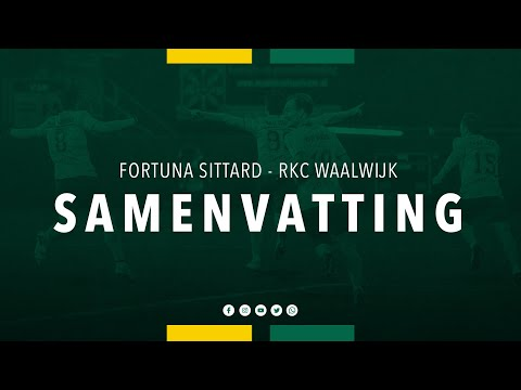 Sittard Waalwijk Goals And Highlights
