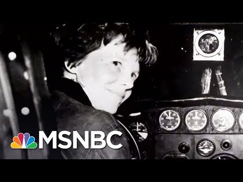 Did Amelia Earhart Survive A Crash Landing? | AM Joy | MSNBC |