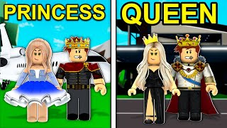 PRINCESS To QUEEN In Roblox Brookhaven..