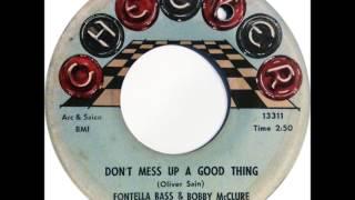 Fontella Bass & Bobby McClure   -   Don