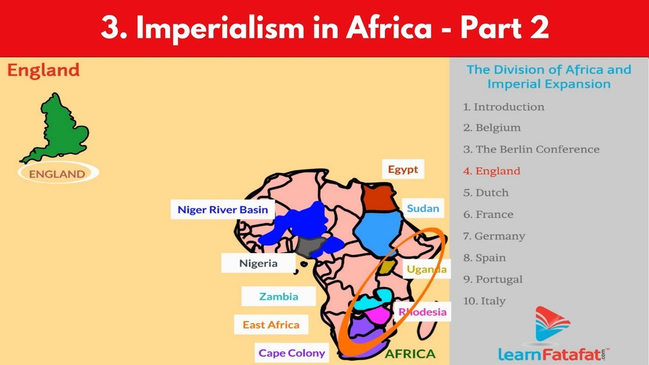 imperialism in africa thematic essay Thematic essays thematic essay  thematic essay question belief systems  british imperialism cold war communism and capitalism conquests.