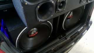 som new civic tremendo as estruturas by dj audio car