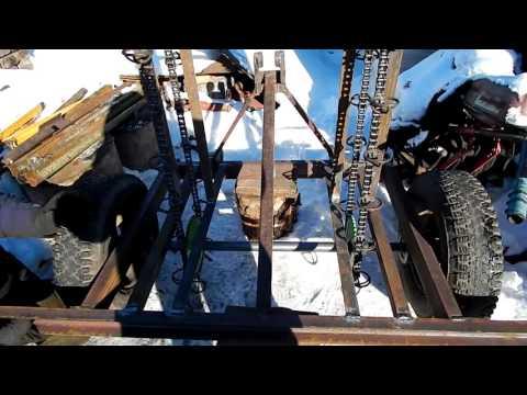 видео: Варим цепь транспортера картофелесажалки .