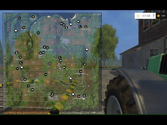 Landwirtschafts Simulator 2015 Goldmünzen inkl. Karte #1