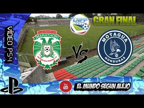PS4 | PRO EVOLUTION SOCCER 2018 | CD MARATHON VS FC MOTAGUA GRAN FINAL LIGA NACIONAL HONDURAS 2018