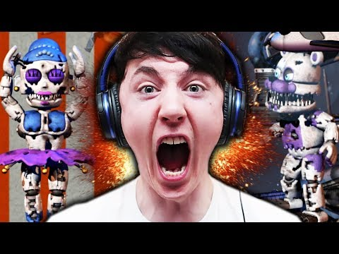 A very VERY ANGRY Dawko.... || Baby's Nightmare Circus Bike Fighter Part 2