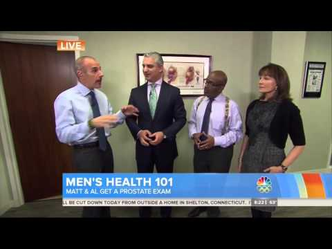 Prostate Exams on Matt Lauer and Al Roker on NBC Today Show - Dr. David Samadi Chairman of Urology