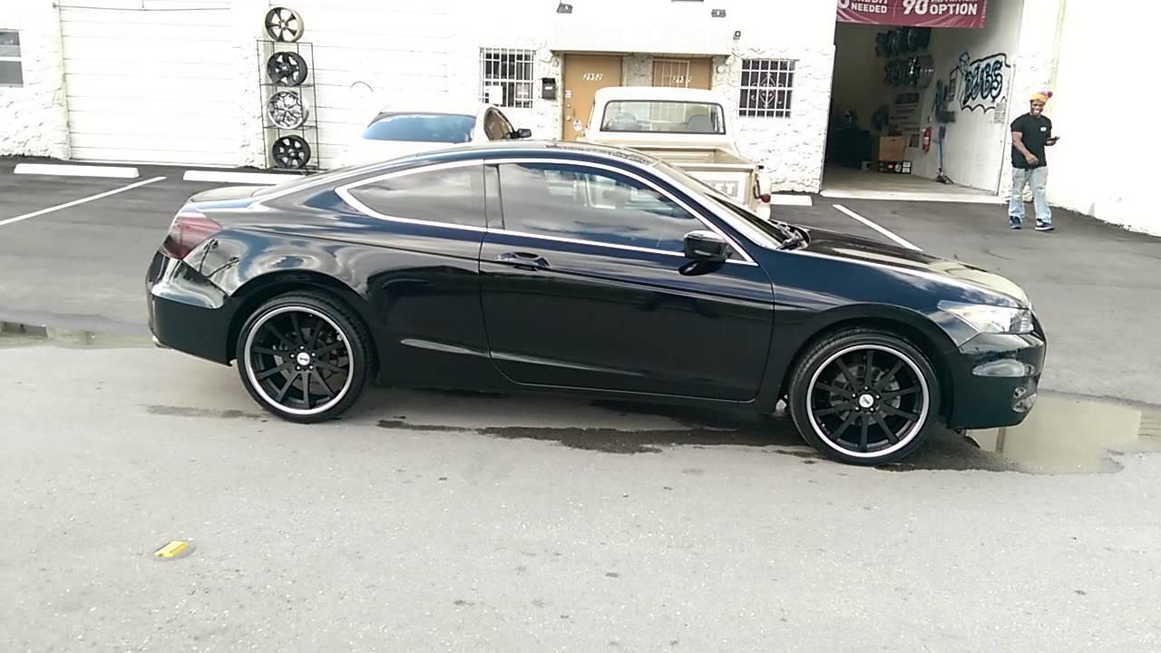 877 544 8473 20 tsw jerez black chrome lip wheels 2012 honda accord coupe review miami youtube
