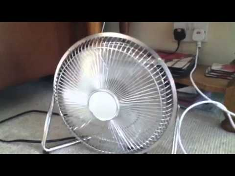 9 Inch Table Fan