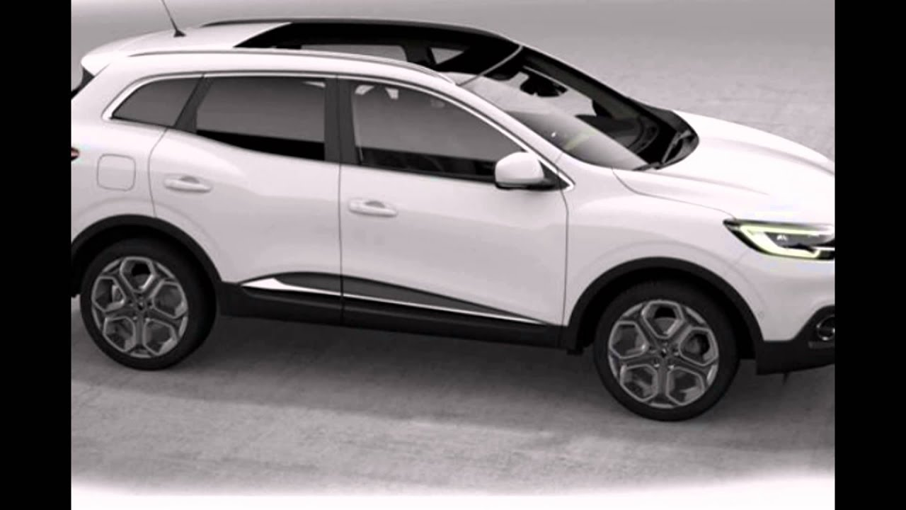 2016 Renault Kadjar Glacier White Youtube