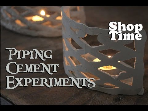 Piping Cement Experiments