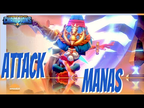 Dungeon Hunter Champions: Manas   Attack And Accuracy Build