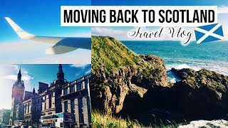Moving Back to University 2017! ✈️🇬🇧 Scotland (UK)