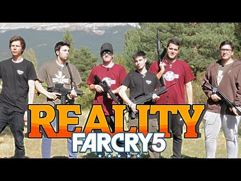Youtubers reunidos en el Reality Far Cry 5 Vlog