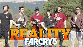 Youtubers reunidos en el Reality Far Cry 5 Vlog