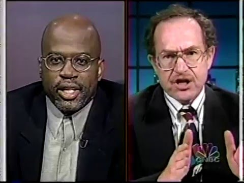 Christopher Darden Trades Vicious Insults with OJ Simpson Attorney Alan Dershowitz on Geraldo