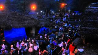 kottiyoor festival at night