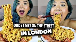 MALA FIRE NOODLE MUKBANG + STORYTIME (Vegan Eating Show)