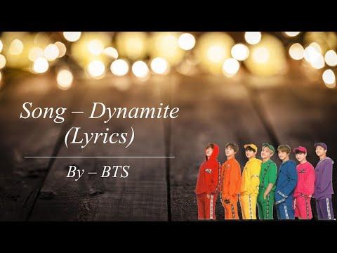bts---dynamite-lyrics