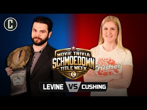 Samm Levine VS Rachel Cushing  Movie Trivia Schmoedown Singles Championship