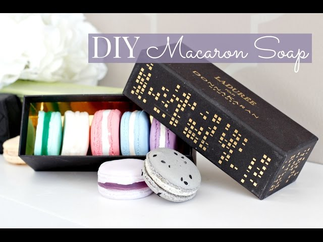 DIY EASY French Macaron Soap - YUM!
