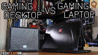 Gaming Laptop vs Desktop ITX PC