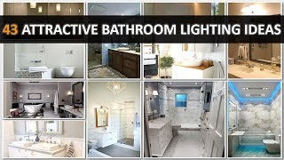 43 Attractive Bathroom Lighting Ideas - DecoNatic