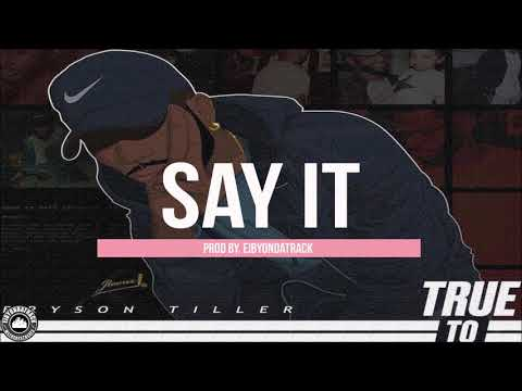 [FREE] Bryson Tiller x Tory Lanez / R&B Type Beat ''Say It''   Eibyondatrack
