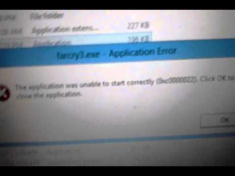 Far cry 3 error 0xc0000022 fixed Very very easy
