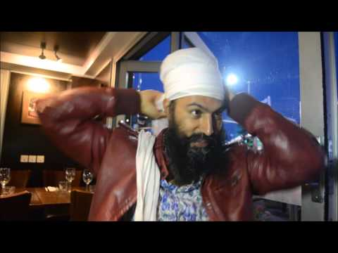 How to tie a Dumalla by Jagmeet Singh Canadian MP