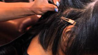 Braidless sew in weave/ Strand-By-Strand [Part 1]