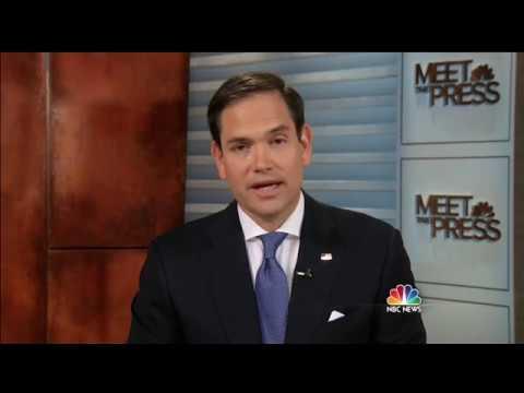 Marco Rubio on Meet The Press