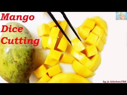 Mango Cutting | Mango Dice Cutting |How To Cut A Mango  #js_kitchen786