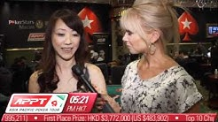 APPT Macau 2011: Day 3 Update with Celina Lin - PokerStars.co.uk