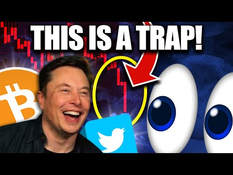 BITCOIN Crash Is A TRAP!!! Don't Be Fooled into Selling!!
