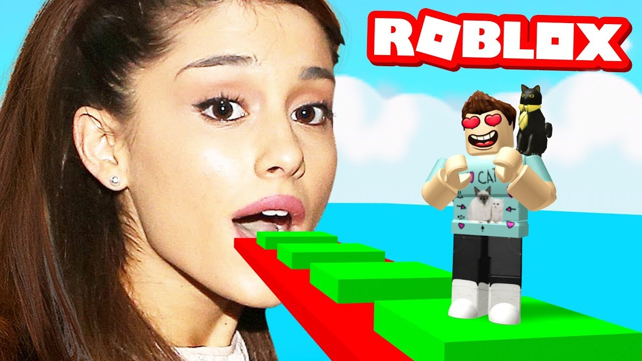 Ariana Grande Obby In Roblox Youtube