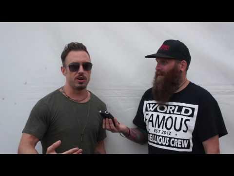 The Dillinger Escape Plan Interview Reading Festival 2016