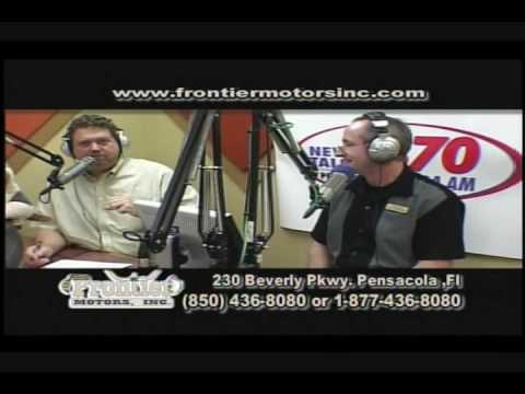 Frontier motors tv show part 2 pensacola used car dealer for Frontier motors pensacola fl