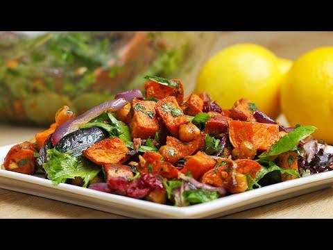 Sweet Potato and Chickpea Salad