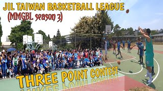 JIL HUKOU TAIWAN (MMGBL season 3) THREE POINT CONTEST