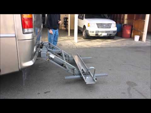 Hydra Lift Hydraulic Motorcycle Lift for Sale - used