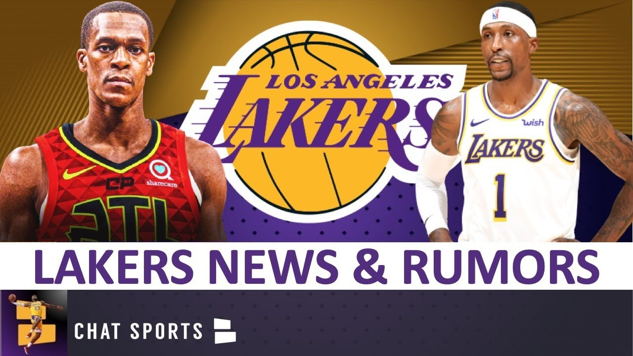 Lakers Free Agency News & Rumors: Rajon Rondo Signs With Atlanta Hawks + Lakers Re-Signing KCP?