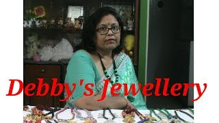 Jewellery Making Tutorial Part - 6 / Debjani Creations Tutorial