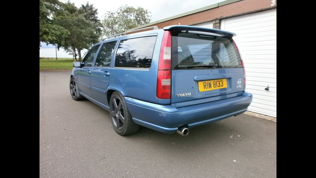 Loudest Volvo V70 T5 exhaust sound - YouTube