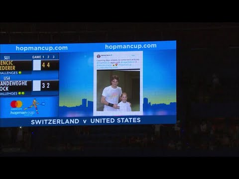 belinda-bencic-and-roger-federer-on-court-interview-(rr)-|-mastercard-hopman-cup-2018