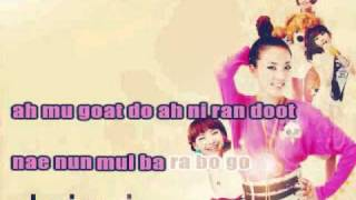 It Hurts (Apa) by 2ne1 Instrumental/Karaoke