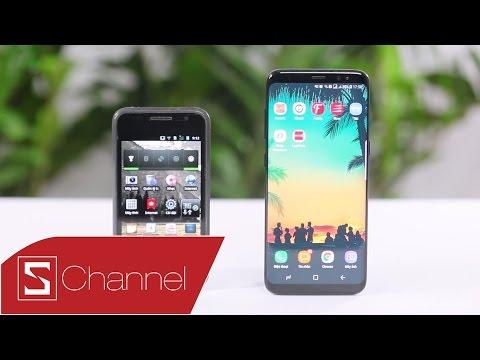 Schannel - So sánh Galaxy S1 và Galaxy S8: Sau 8 thế hệ Galaxy S, Samsung đã đột phá như thế nào?