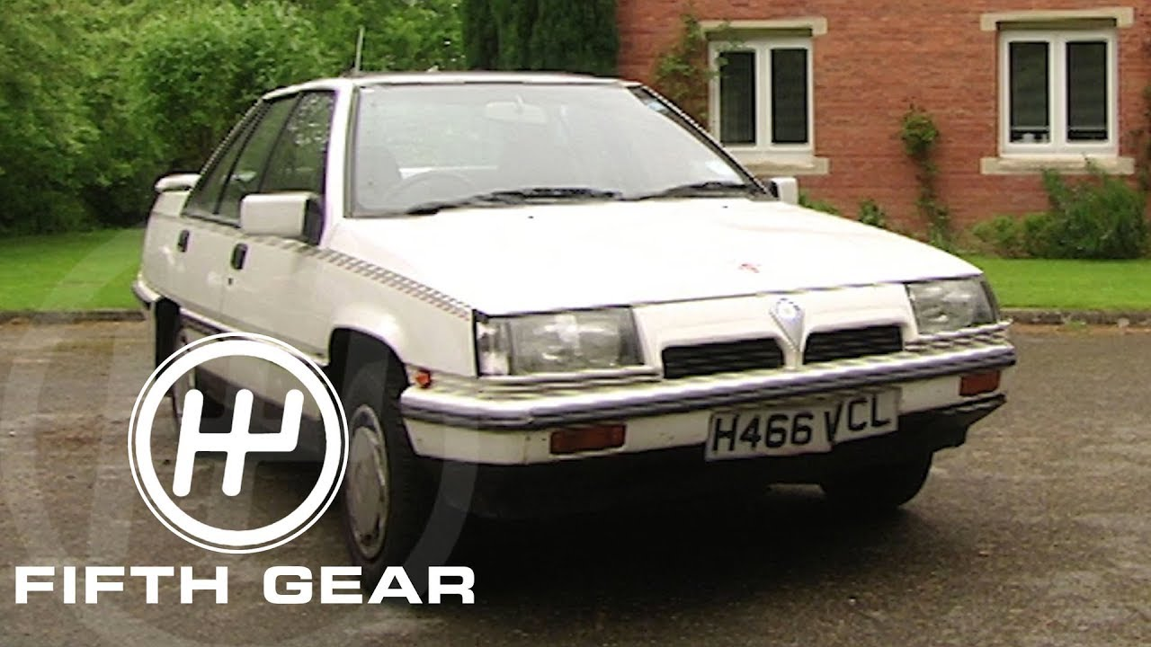 Fifth Gear: The Experiment With Old Banger Cars (Proton Sport) - YouTube