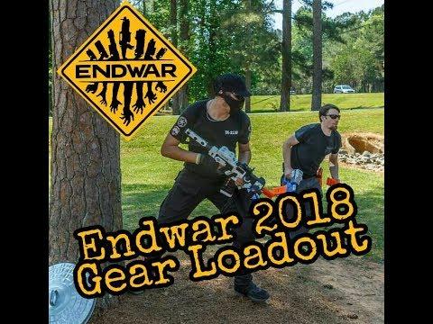 No 22. HvZ Endwar 2018 Loadout