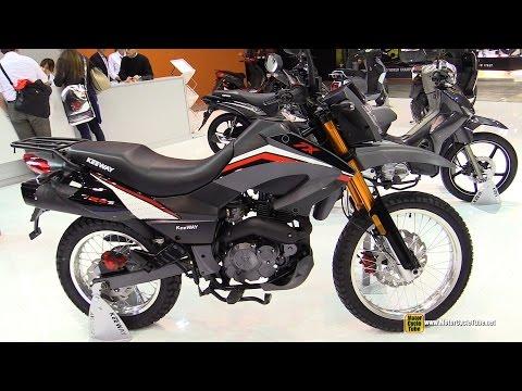 2015 Keeway TX 125 S Motorcycle - Walkaround - 2014 EICMA Milan Motorcycle Exhibition